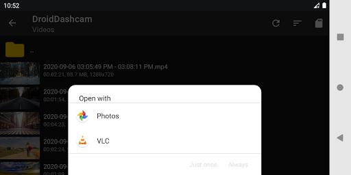 Droid Dashcam - Driving video recorder, BlackBox 1.0.74 Screenshots 7