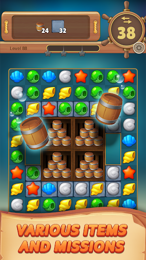 Ocean Hunter : Match 3 Puzzle 1.0.8 screenshots 6