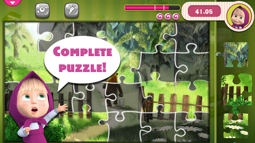 Masha and The Bear Puzzle Game 2.7 screenshots 9