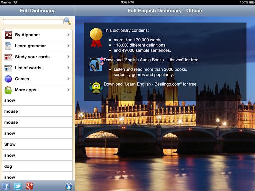 English Dictionary - Offline  screenshots 9