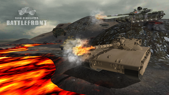 Tank Simulator : Battlefront 4.0.2 MOD for Android 1