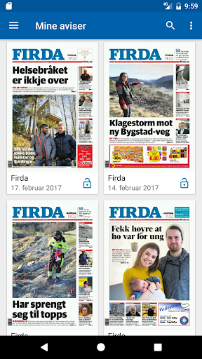 Firda eAvis 8.0.9 screenshots 5