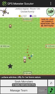 GPS Monster Scouter 0.26.5 screenshots 1