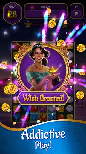 Genies & Gold - Match 3 Jewel & Gem Adventure 1.2.6 screenshots 2