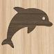 ウッドブロックパズル【サバイバル動物のオフライン脳トレパズルゲームアプリ】