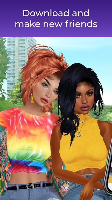 IMVU: chat, friendship, romance in a virtual world  poster 0