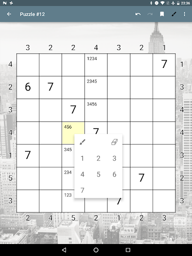 Skyscrapers Number Puzzle 20210312.1 screenshots 5