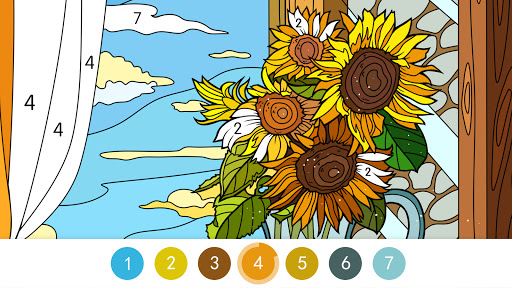Coloring - color by number 1.1.7 screenshots 4