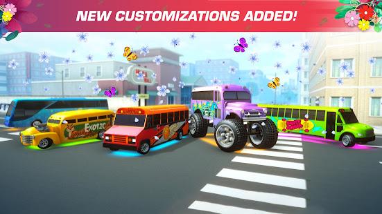 スーパーハイスクールバス-ドライビングシミュレーターゲーム3D