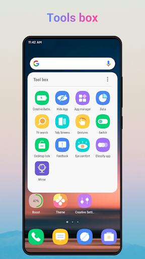 Creative Launcher - Quick & smart launcher 2020 screenshots 5