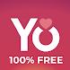 YoCutie - 100%無料の出会い系アプリ