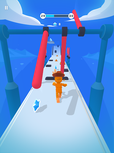 Pixel Rush - Epic Obstacle Course Game android2mod screenshots 9