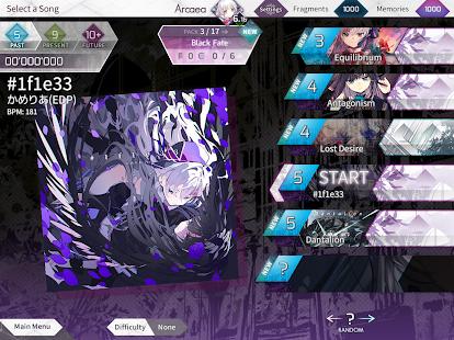 Arcaea - New Dimension Rhythm Game screenshots 7