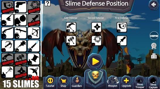 15 Slimes! : Offline Action Defence 2