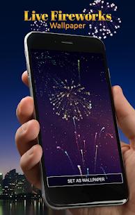 Live Fireworks Wallpaper