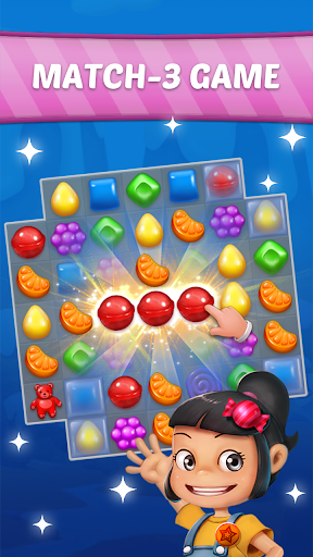 Candy Sweet Story: Candy Match 3 Puzzle 75 apktcs 1