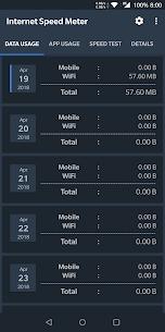 Internet Speed Meter MOD APK by Glitterz Inc 1