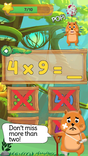 Times Tables: Mental Math Games for Kids Free  screenshots 5
