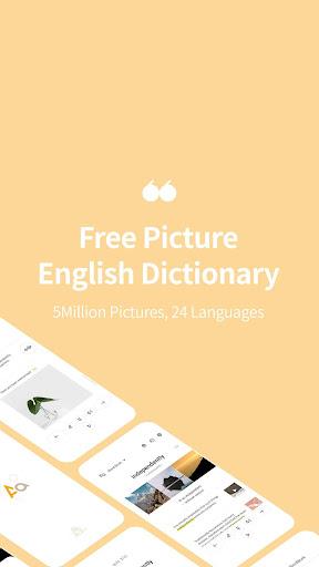 Picture English Dictionary - 24 Languages 5M Pics  screenshots 1