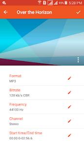 Audio Converter (MP3, AAC, WMA, OGG) – MP3 Cutter MOD APK 1
