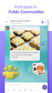 Viber Messenger - Messages, Group Chats & Calls Screenshot