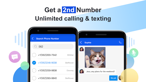 Free phone calls, free texting SMS on free number 4.15.10 Screenshots 2