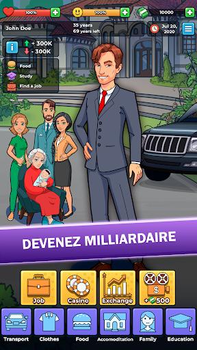Télécharger Gratuit Vie de Clochard: Jeu d'Entreprise et d'Argent APK MOD (Astuce) screenshots 1
