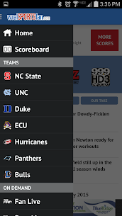 WRAL Sports Fan  For Pc (Windows 7, 8, 10 And Mac) Free Download 1