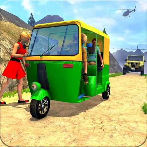 Chingchi Game Simulator : Crazy Tuk Tuk Rickshaw