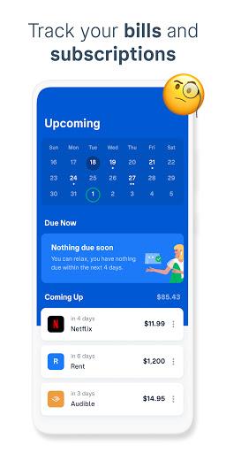 Truebill Budget Planner, Bill Tracker and Reminder apktram screenshots 3