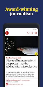 The Guardian – Live World News, Sport & Opinion (PREMIUM) 6.56.2494 Apk + Mod 1