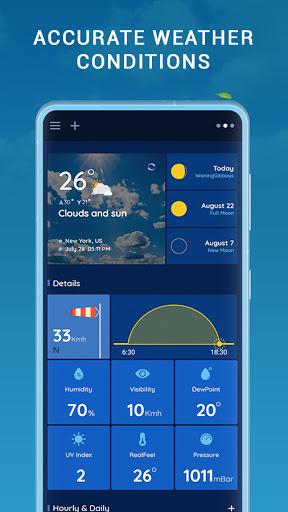 Accurate Weather : Weather Radar Live & Alerts  screenshots 3