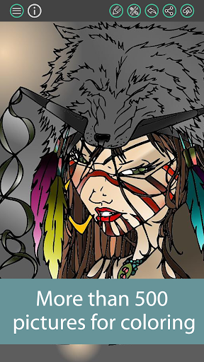 Paint a picture - Coloring Book 1.21 screenshots 4
