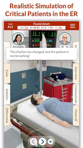 Télécharger gratuit Full Code - Emergency Medicine Simulation APK MOD 1