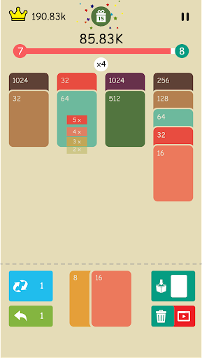 2048 : Solitaire Merge Card  screenshots 8