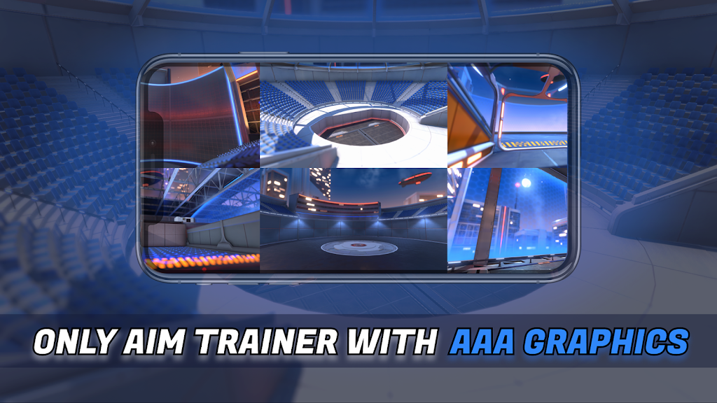 3D Aim Trainer - Shoot Like A Pro Gamer! poster 2