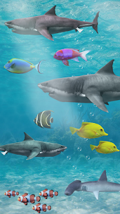 Shark aquarium live wallpaper Screenshot
