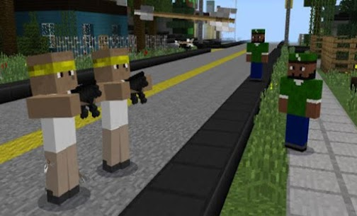 SA GTA in Minecraft PE. Download now! Apk Download 1