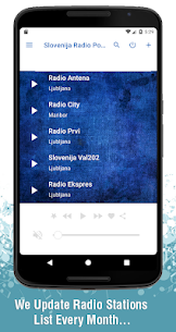Slovenija Radio Postaje 2.4 [Mod + APK] Android 3