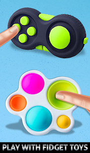 Fidget Cube Antistress Buttons 3D Toys Satisfying 10