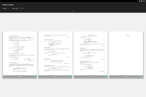 JotterPad - Writer, Screenplay, Novel 12.11.0D-pi Screenshots 15