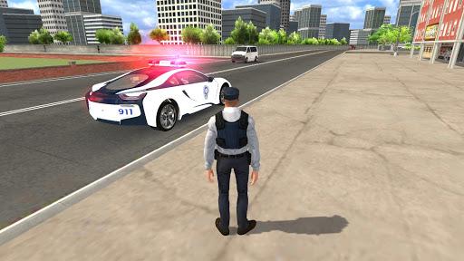 American i8 Police Car Game 3D 1.1 screenshots 6