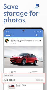 Maki Plus: Facebook & Messenger in 1 ads-free app 3