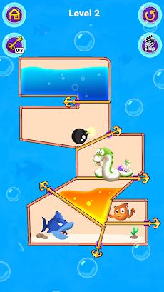 Fish Pin - Water Puzzle & Pull Pin Puzzleのおすすめ画像3