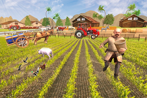 New Milford Tractor Farming Organic SIM Games 2019 apkdebit screenshots 13