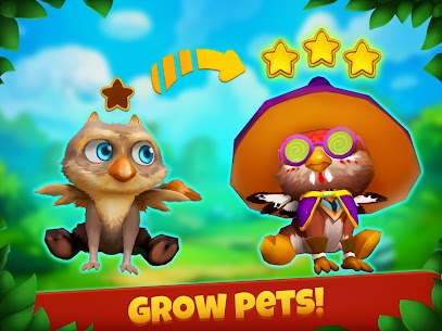 Epic Pets: Match 3 story with fashion animals 5