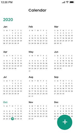 Calendar android2mod screenshots 3