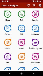 Learn Norwegian Free Offline For Travel