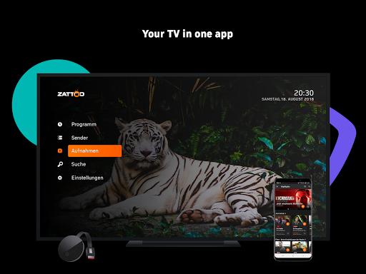 Zattoo - TV Streaming App apktram screenshots 13