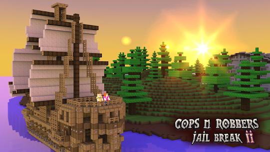 Cops N Robbers: 3D Pixel Prison Games 2 9